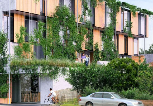 Wohnen Morgen: setting a benchmark with 9-star higher density living