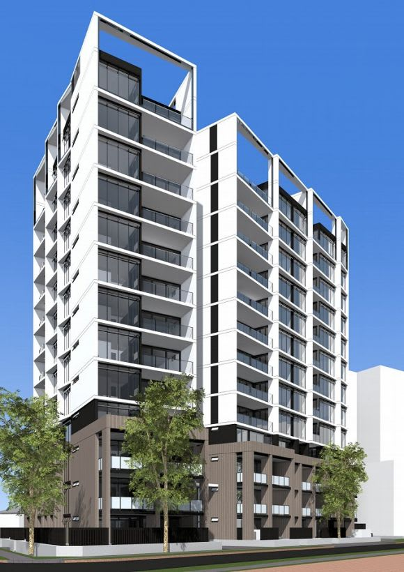 DKO Architecture designs for Meriton in Mascot