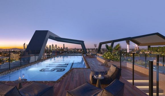 Martin Brothers sees the rooftop amenities area take precedence across Brisbane
