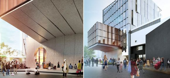 Southbank street life flourishes under the new Melbourne Conservatorium of Music proposal