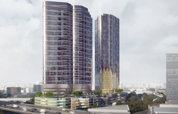Is this DEC Australia's revamped City Road endeavour?