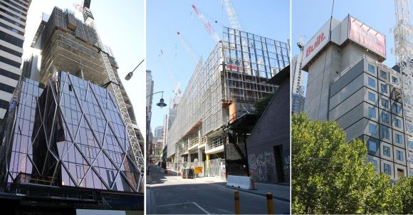 Where the tall ones are: a construction snapshot of the CBD's northern talls