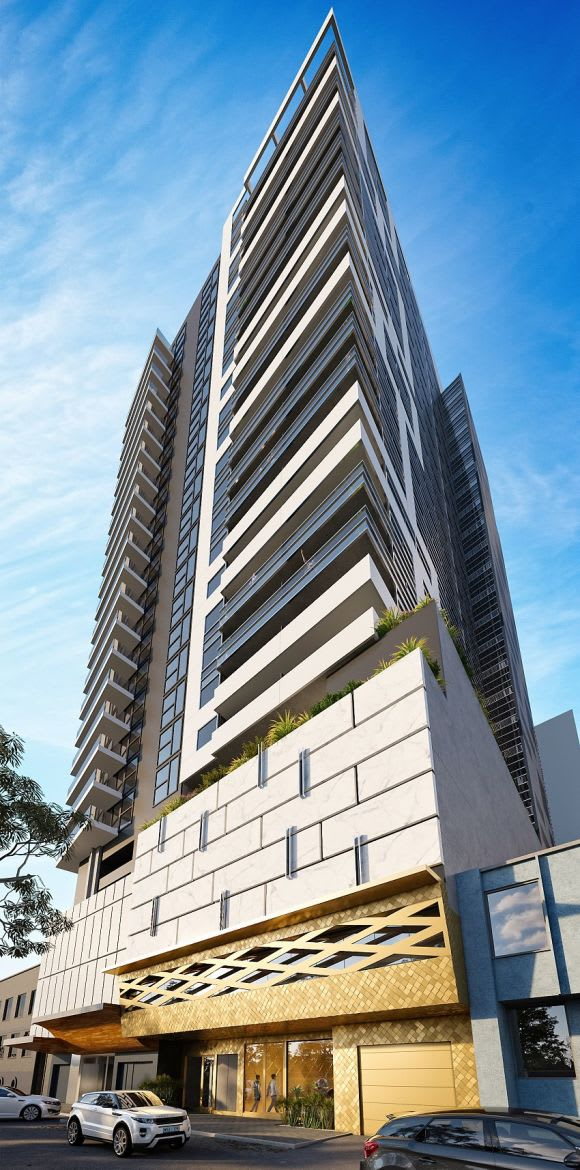 South Yarra's latest a 28 level residential tower