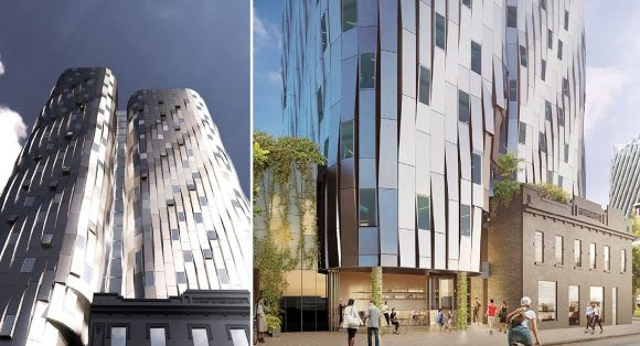City North's latest entrant a metal monolith