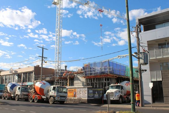 Pulse of the construction industry: Melbourne tower crane count March 2016