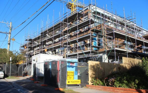 Boom times for apartment construction in Glen Eira