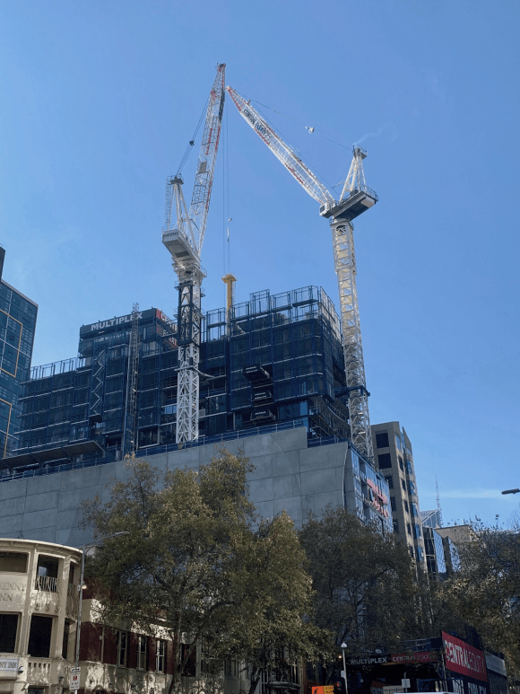 Melbourne Grand construction update