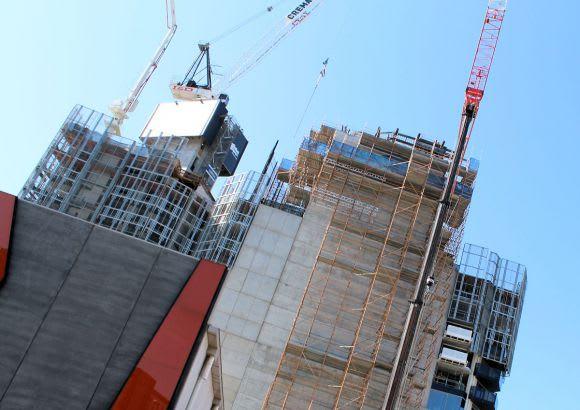 A new record: Urban Melbourne's October 2015 crane count