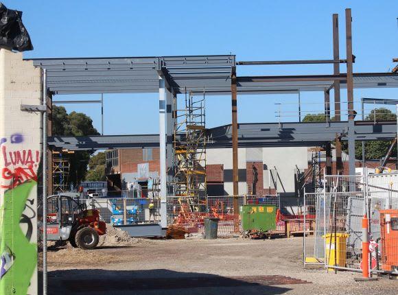 Prahran's vertical school nears as South Melbourne PS powers ahead