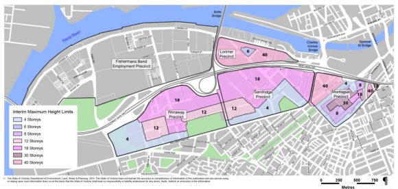 Fishermans Bend Urban Renewal Area expands, interim height limits applied
