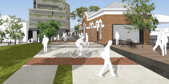 Jewell and the Station Precinct Engagement Program
