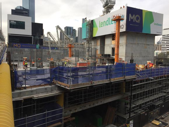 Docklands construction update June 2017 (with 3D)