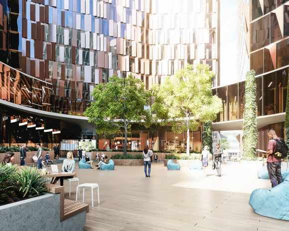 Further details of Hayball's design for Carlton Connect emerge