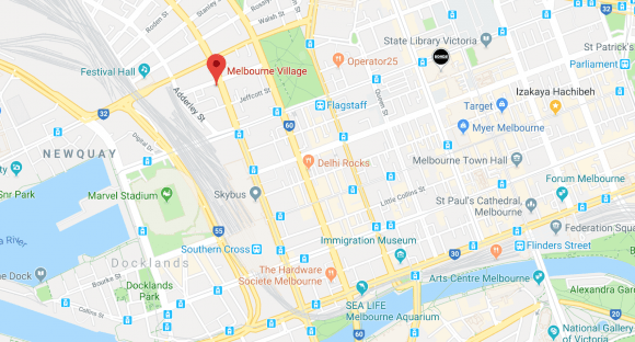 Melbourne Village location