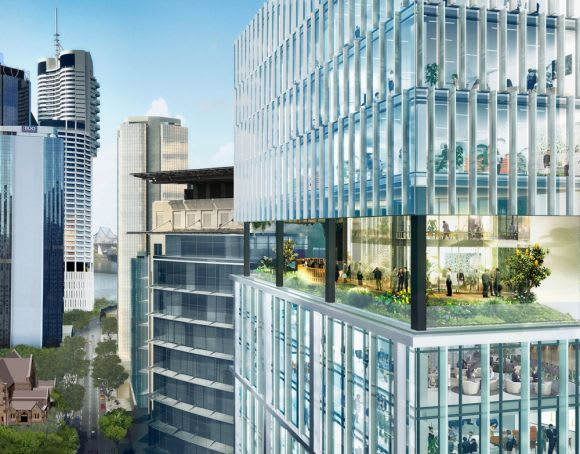 Australia's first twin tower conversion and refurbishment is underway