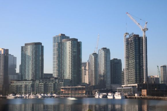 839 Collins Street tops out at Victoria Harbour