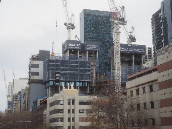 380 Melbourne construction update