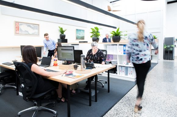 Retaining and creating spaces for the collaborative work revolution