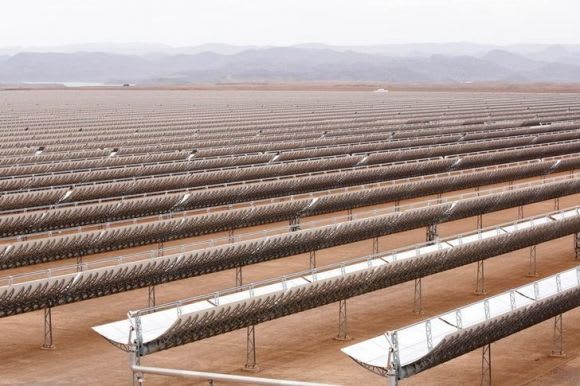 Noor solar farm, Morocco. Credit: REUTERS/Youssef Boudlal