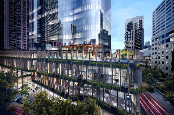 Construction beckons for Queens Place