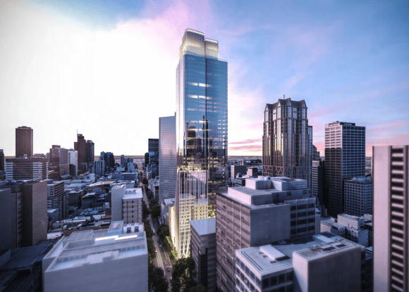 Bates Smart release new designs for 435 Bourke Street in response to Melbourne City Council height amendment request