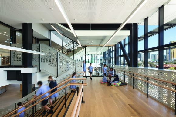 Hayball's Richard Leonard provides insight into the South Melbourne Primary School