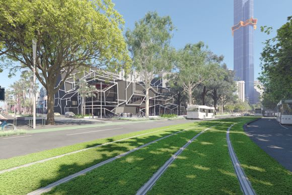 Southbank Boulevard and Dobbs Street. Credit: City of Melbourne