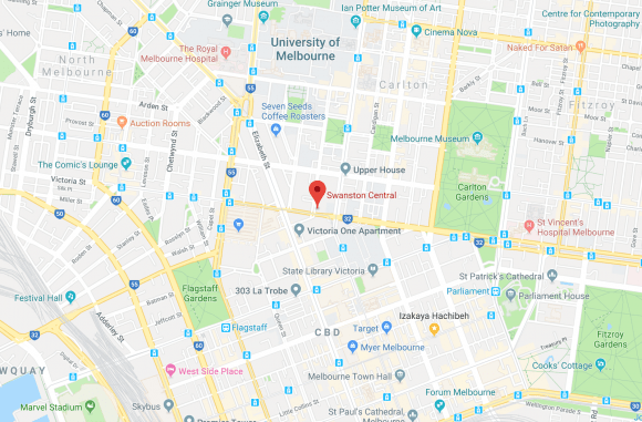 Swanston Central location