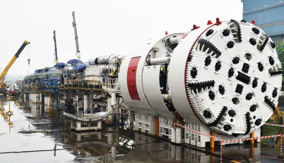 Sydney Metro's second batch of TBMs on their way