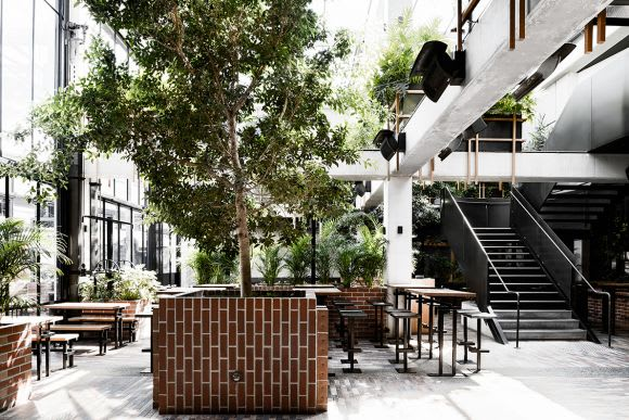 TILT and Technē shed some light on  the Village Belle Hotel revamp
