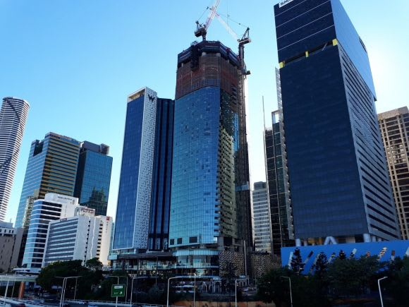 The One Brisbane construction update