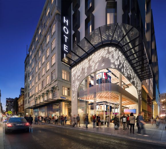 Updated designs for The Walk Arcade & Hotel revealed?
