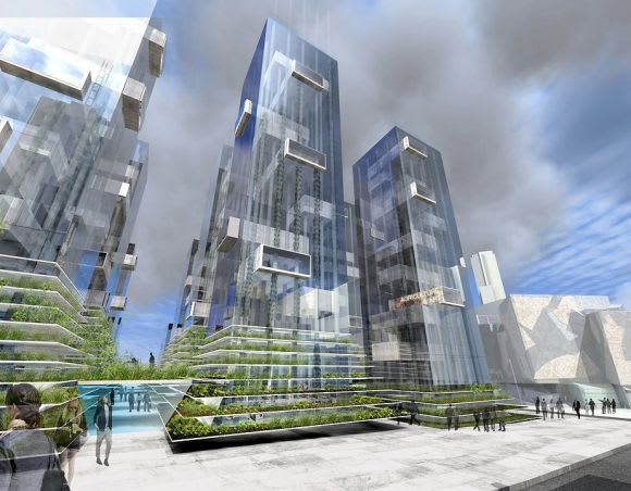 Federation Square East: an Urban Ecologies perspective