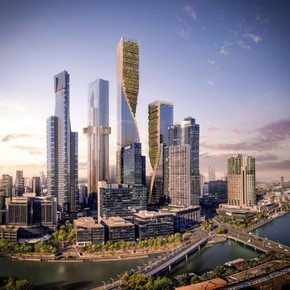 Southbank by Beulah: The winning design for Australia's tallest tower revealed