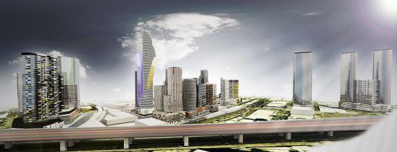 Urban Melbourne's CBD Model in the making