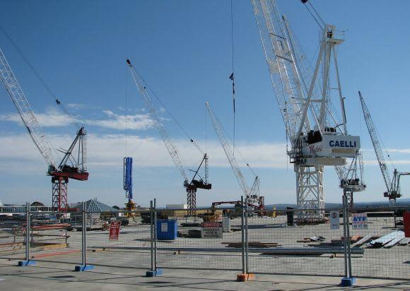 Melbourne under construction - a decade ago