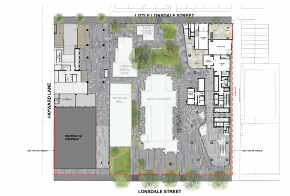 Wesley Place begins construction as CoM planners endorse stage two of the project