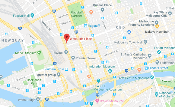 West Side Place location