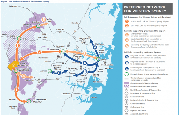 Western Sydney gets a City Deal, ambitious rail-based transit vision