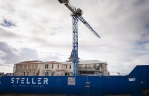 Work halts at Steller's Continental Hotel project, developer sacks 76