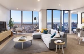 Central Equity's grand opening for Southbank Place apartment