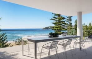 New Manly beachfront units have dozens of buyers chasing them