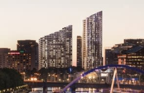 Triple tower complex approved for Melbourne's Yarra riverfront