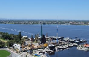 Construction Update at The Towers at Elizabeth Quay