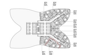 Aurora Melbourne Central floor plans