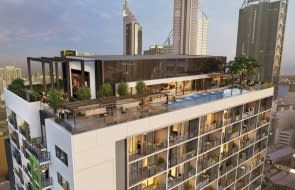 Big city project defies subdued market