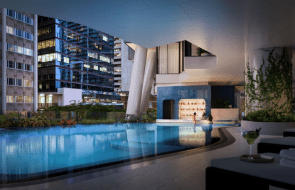 The Westin Brisbane hotel opens its doors, featuring Brisbane's first swim-up pool bar