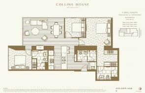 Collins House floor plans