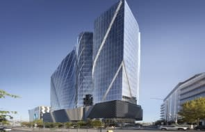 Docklands' rail history to be preserved in public artwork at new Poly Victoria office tower