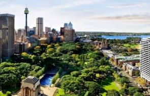 Downtown Sydney property prices increase with proximity to green spaces